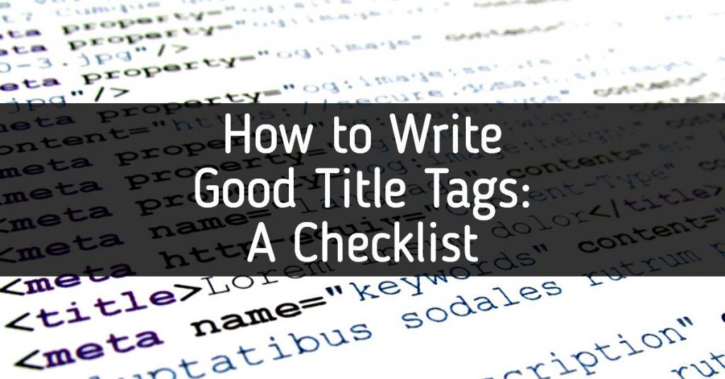 meta data code title tags